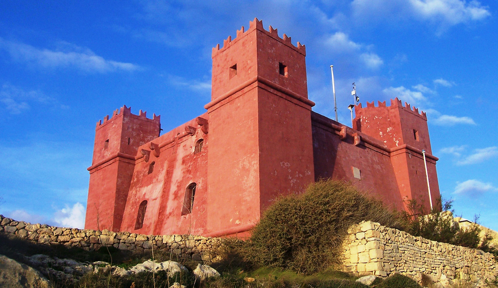St. Agatha's Tower (The Red Tower)