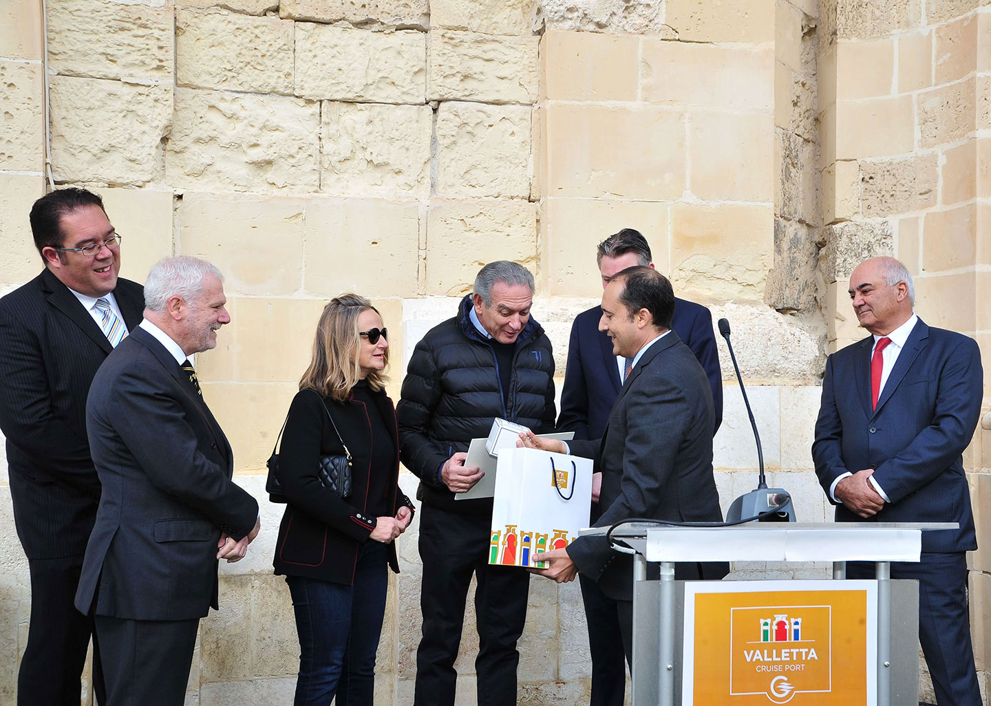 700,000 Cruise Passenger Movements celebrated at Valletta Cruise Port