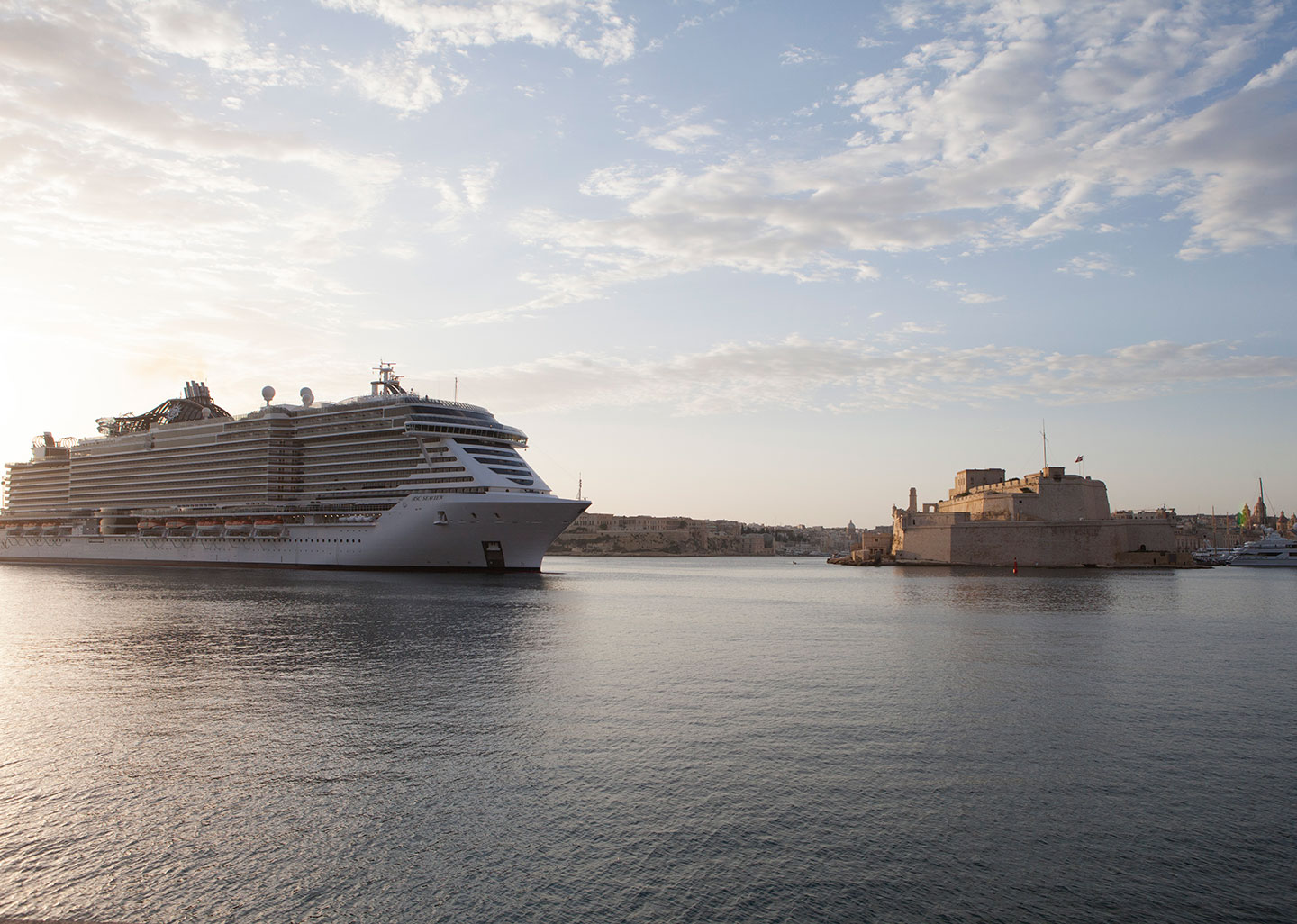 Valletta Cruise Port welcomes MSC Seaview