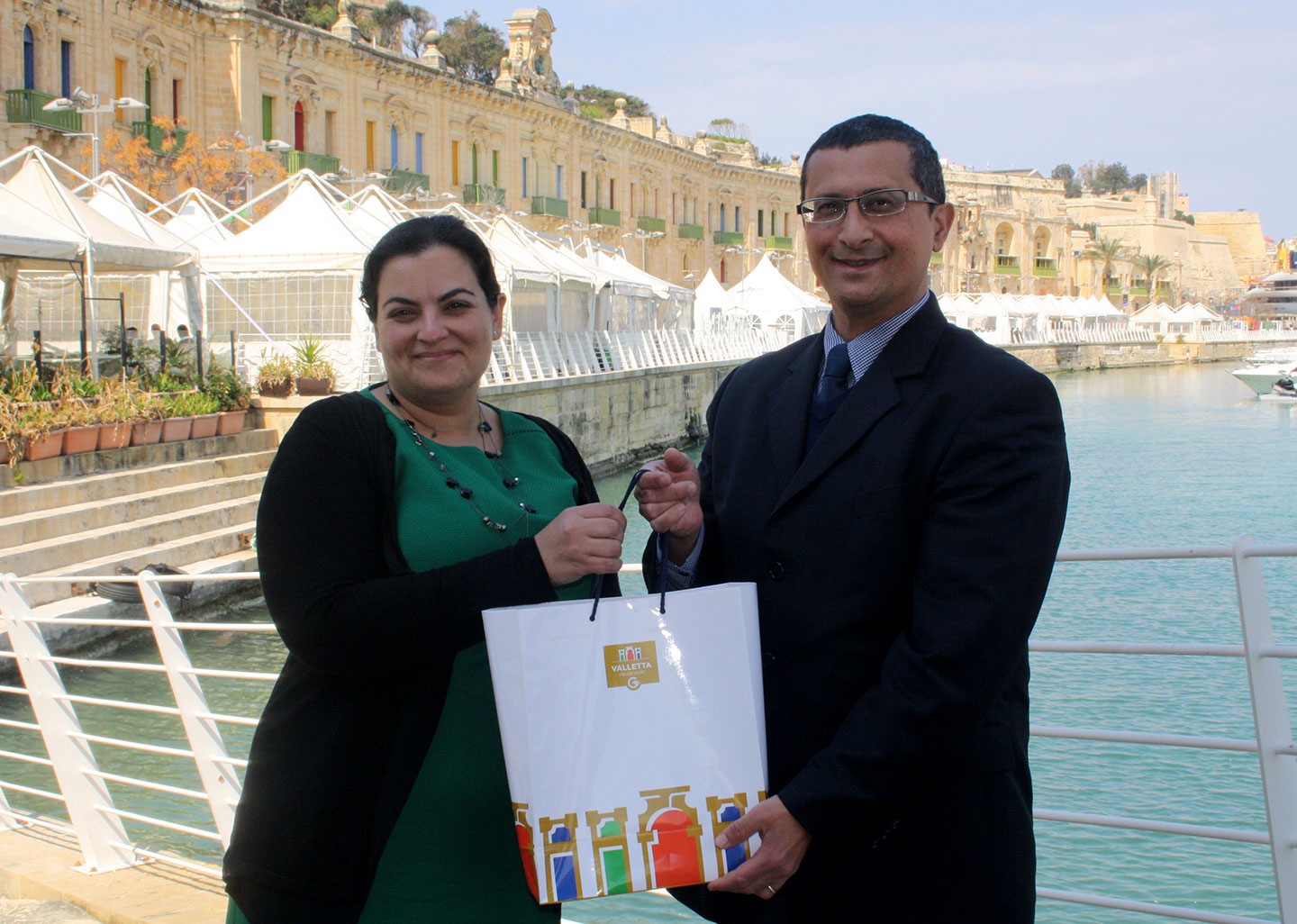 Valletta Cruise Port continues to support the National Literacy Agency
