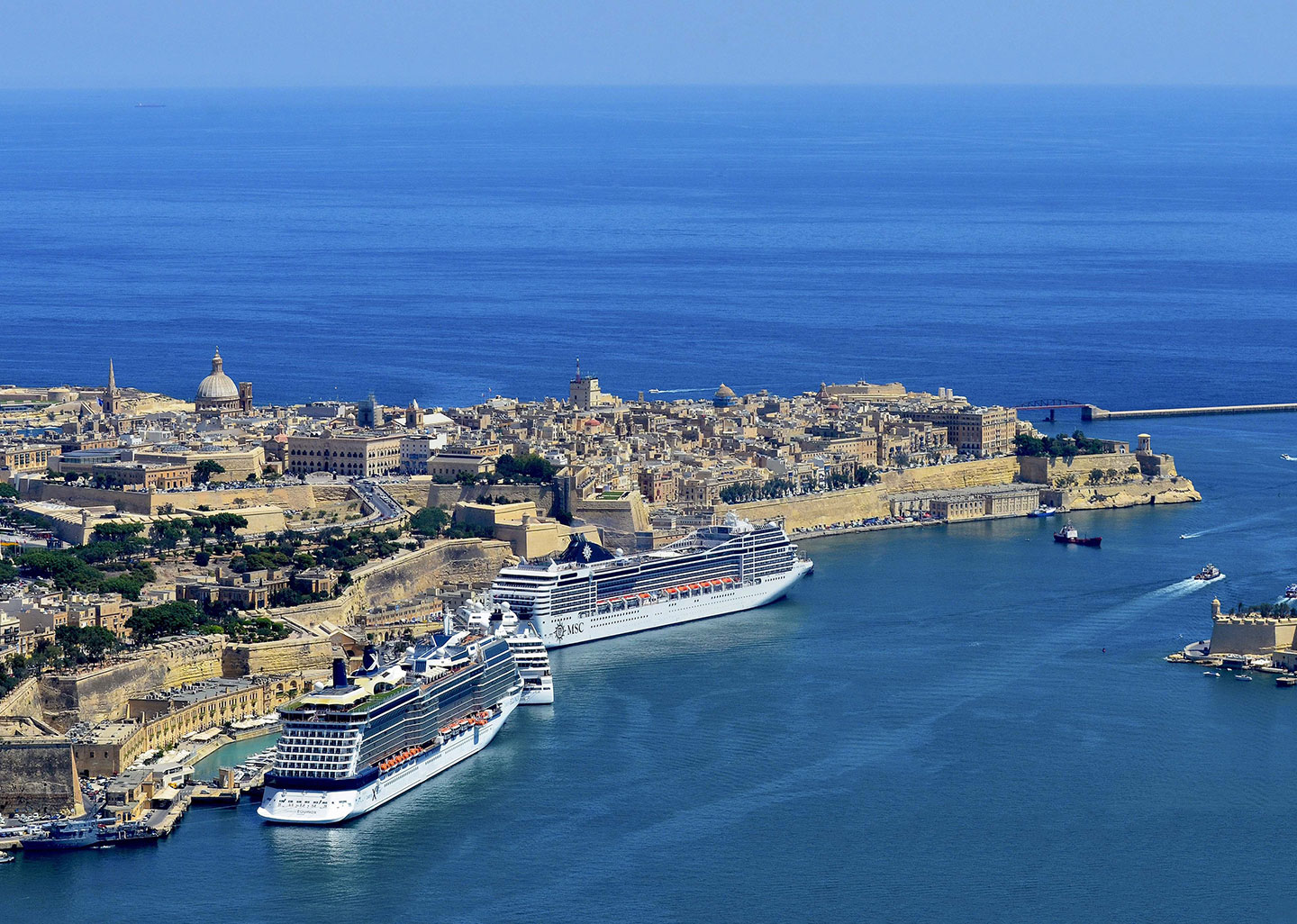 Record Year for Valletta Cruise Port