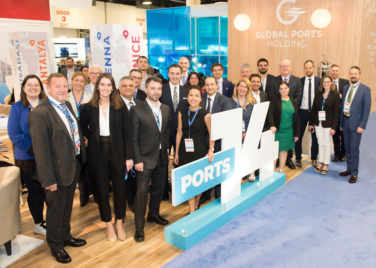 Valletta Cruise Port attends Seatrade Cruise Global