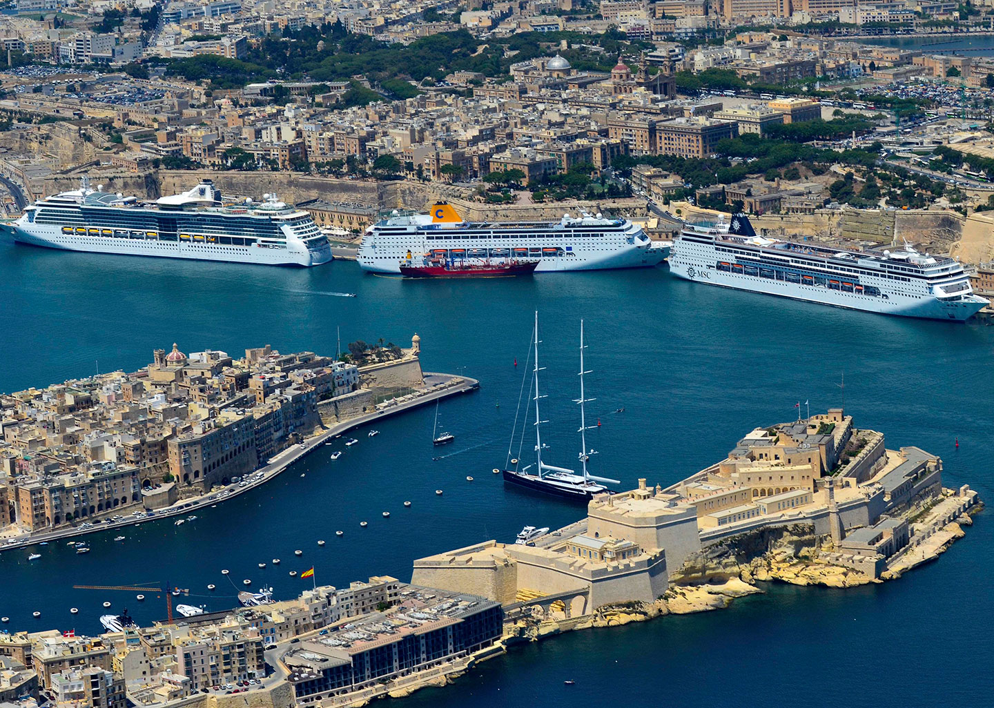 Valletta Cruise Port named as Top-Rated Mediterranean Cruise Destination