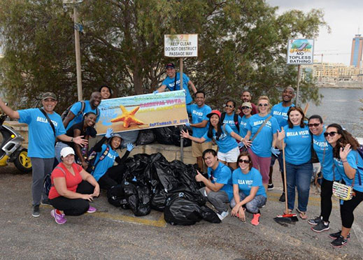 Volunteers Join Forces for Coastal Cleanup Day