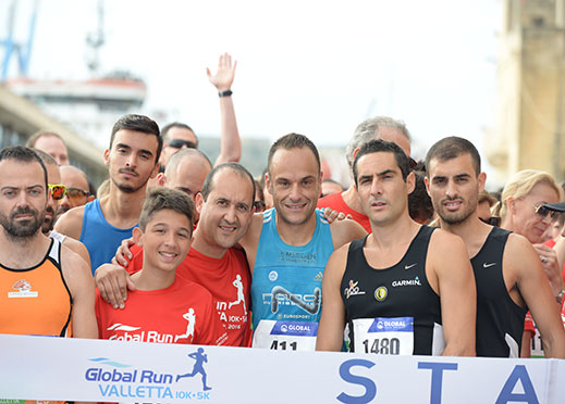 Challenging Global Run Valletta raises a toast for Valletta, funds for Puttinu Cares