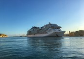 Thanks to strict MSC Cruises health and safety protocol to protect local communities, Valletta Cruise Port welcomes MSC Grandiosa
