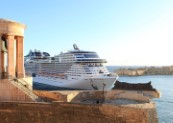 MSC Grandiosa makes first call to Valletta