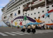 Valletta Cruise Port welcomes Norwegian Star