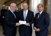 Hon. Prime Minister Dr. Joseph Muscat visits Valletta Cruise Port's new offices
